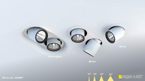 Поворотные осветители от МДМ